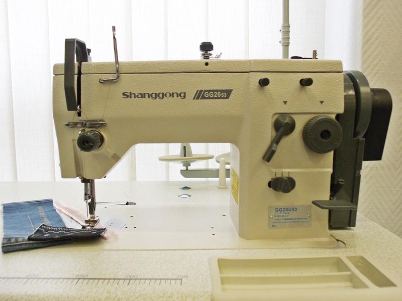 Nouveau industrie machine coudre zig zack 20u53 ebay for Machine a coudre yamata