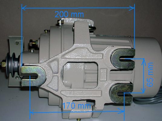 n hmaschinen kupplungs motor zoje 400w 220v rechnung ebay. Black Bedroom Furniture Sets. Home Design Ideas