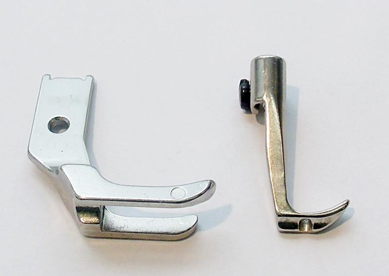 Kordelfuß und zweiseitige Obertransport für 3 Fachtr  ~ Nähmaschine Obertransport